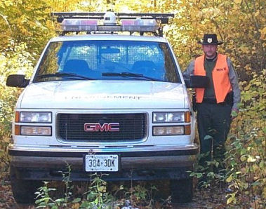 Conservation Officer Dan Slater