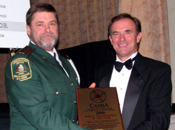 2006 Marine Professional of the Year - CO Jim McMullen