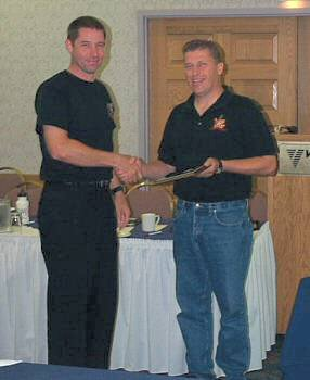 CO Dirk Stuyck receives award