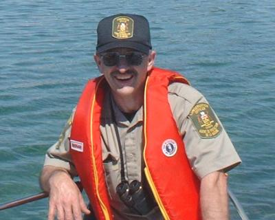Conservation Officer Walter Ceolin