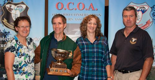 Director Lois Deacon, Dan & Suzanne VanExan, President Joe McCambridge